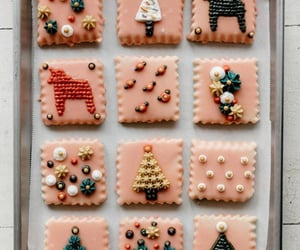 christmas, xmas, and christmas cookies image