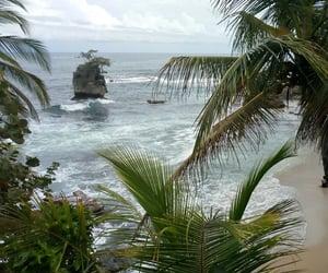 beach, costa rica, and playa image