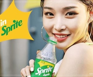 kpop, sprite, and chungha image