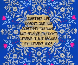 blue and quote image