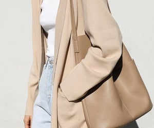beige, fashion, and jeans image
