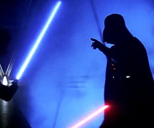 film, star wars, and gif image