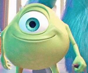 disney, mike, and monsters inc image