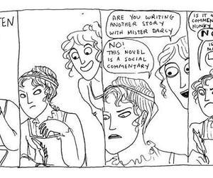 jane austen, regency, and pride and prejudice image