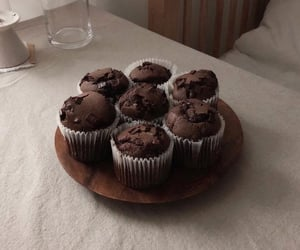 chocolate, cupcake, and dessert image
