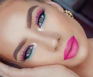 eyes make up, eyes shadows, and make up image