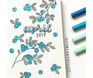 april, beautiful, and art image