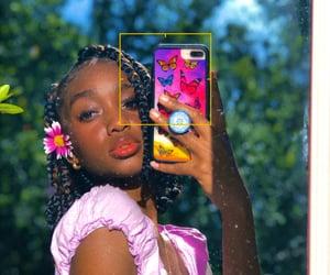 beautiful girl, beauty, and black girl image