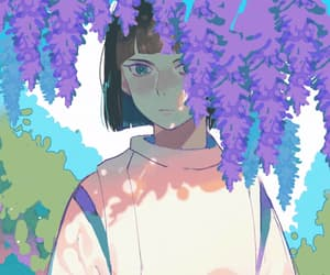 aesthetic, anime, and away image