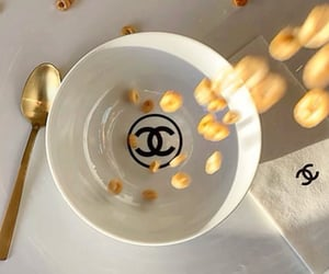 chanel, breakfast, and cereal image