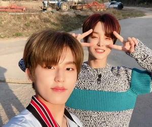 treasure, park jeongwoo, and jihoon image