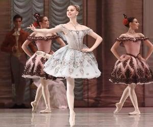 ballerina, ballet, and ballet dancer image