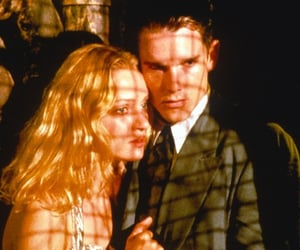 ethan hawke, Gattaca, and uma thurman image