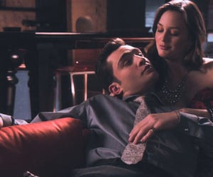 chuck and blair, chuck bass, and gossip girl image