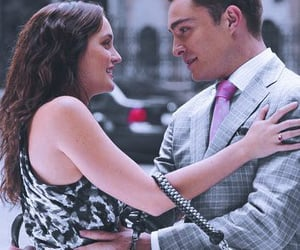 blair waldorf, chuck and blair, and chuck bass image