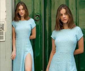 blue, turquoise, and barbara palvin image