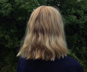 blonde and girl image
