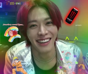messy, nct 127, and rainbowcore image