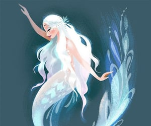 mermaid and mythical creature image