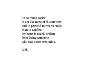 break up, easier, and heartbreak image