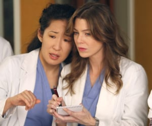 meredith grey, grey's anatomy, and mertina image