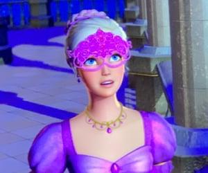 ballgown, barbie, and cartoon image