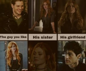 jace, meme, and clary image