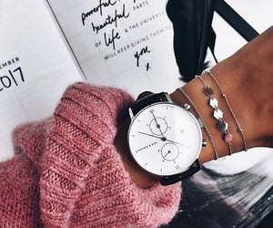 accessory, black, and bracelets image