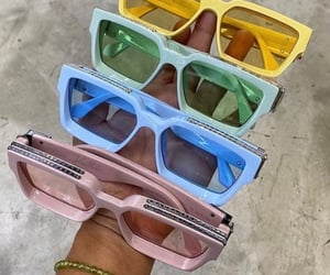 yellow sunglasses, accessories sunglasses, and fashionista addict image