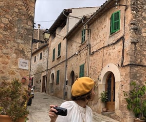hat, italy, and yellow image