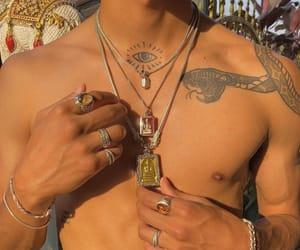 fashion, jewels, and sun image
