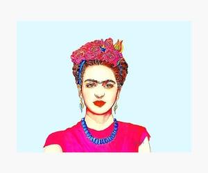 flowers, frida kahlo, and floral headband image