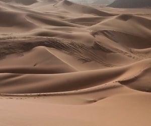 sand, desert, and aesthetic image