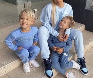 babies, girl, and son image