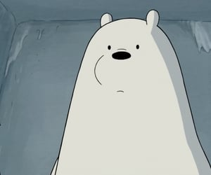 cartoon network, grizzly, and ice bear image