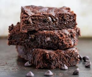 brownies and food image