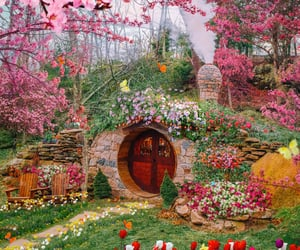 flowers, fantasy, and spring image