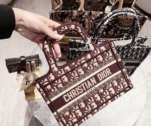 bag, chic, and Christian Dior image