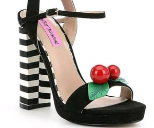 cherry, pumps, and shoes image