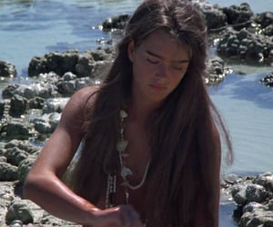brooke shields and the blue lagoon image