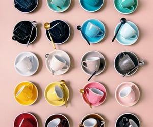 coffee, colors, and delicious image