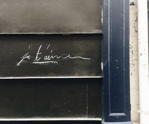 france, paris, and je t'aime image