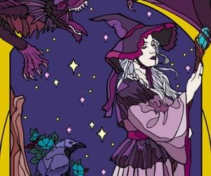 background, magic, and dark image