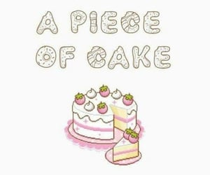 cake, music, and quotes image