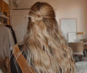 blonde, waves, and cute image