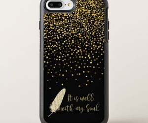 faith, gold, and iphone cases image