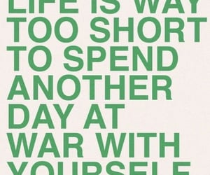 quotes, green, and life image