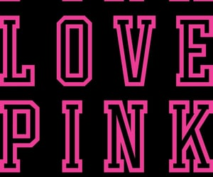 background, love pink, and pink image