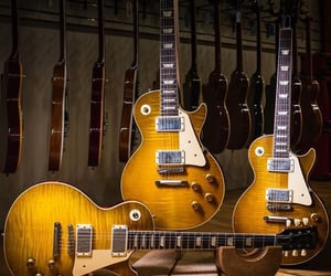 aesthetic, guitar, and gibson les paul image
