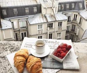 aesthetic, breakfast, and paris image